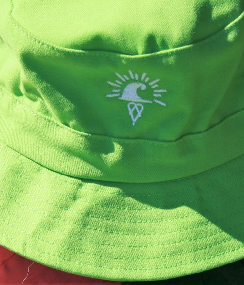 Burra Kids Bucket Hats - Lime