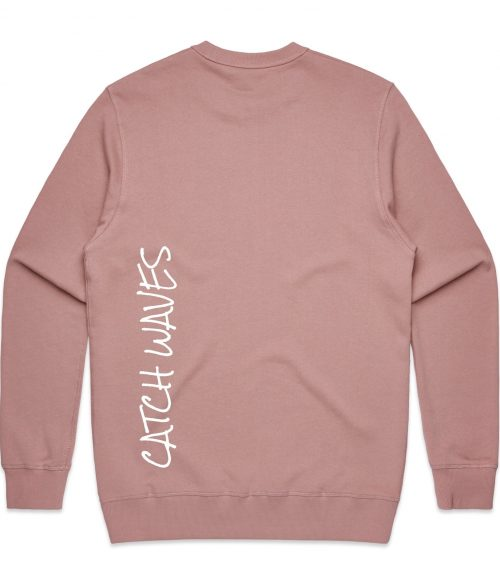 Rose The Crew Hoodie Catch Waves Back