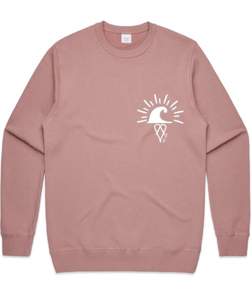 Rose The Crew Hoodie Catch Waves Front